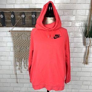 Nike Therma fleece hoodie size Large
